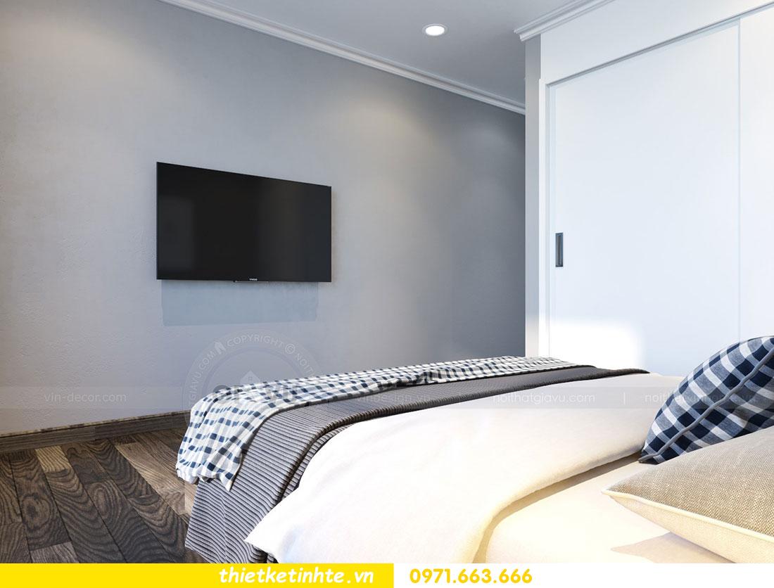 Thiết kế nội thất chung cư dcapitale căn 2 phòng ngủ sang trọng 08
