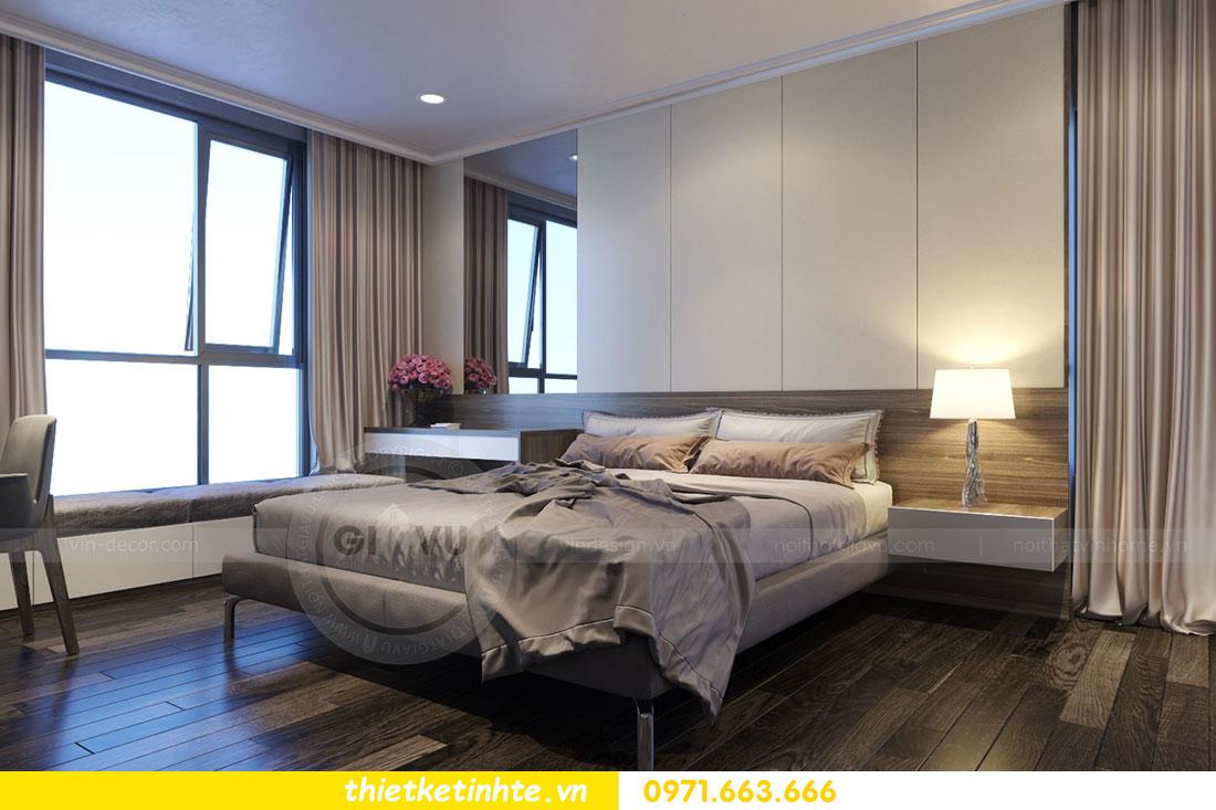 Thiết kế nội thất chung cư dcapitale căn 2 phòng ngủ sang trọng 11