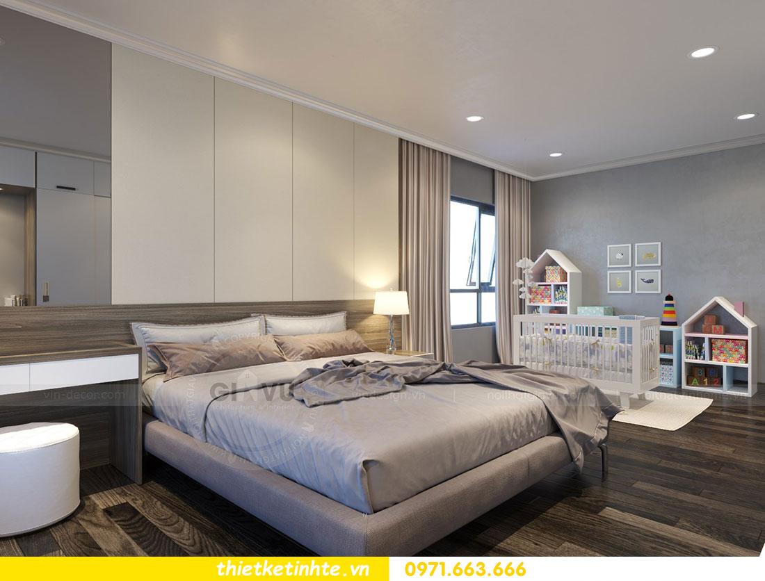Thiết kế nội thất chung cư dcapitale căn 2 phòng ngủ sang trọng 12