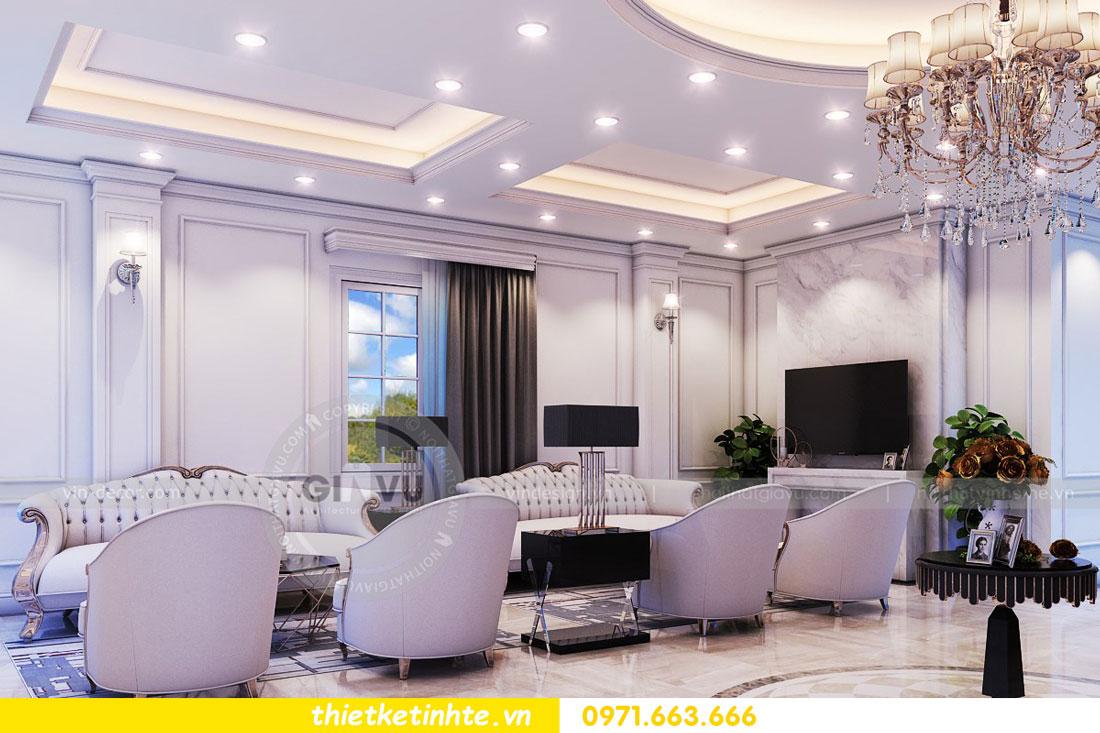 thiết kế nội thất biệt thự The Harmony tinh tế sang trọng 0971663666 06
