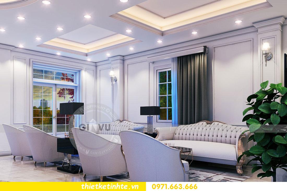 thiết kế nội thất biệt thự The Harmony tinh tế sang trọng 0971663666 08