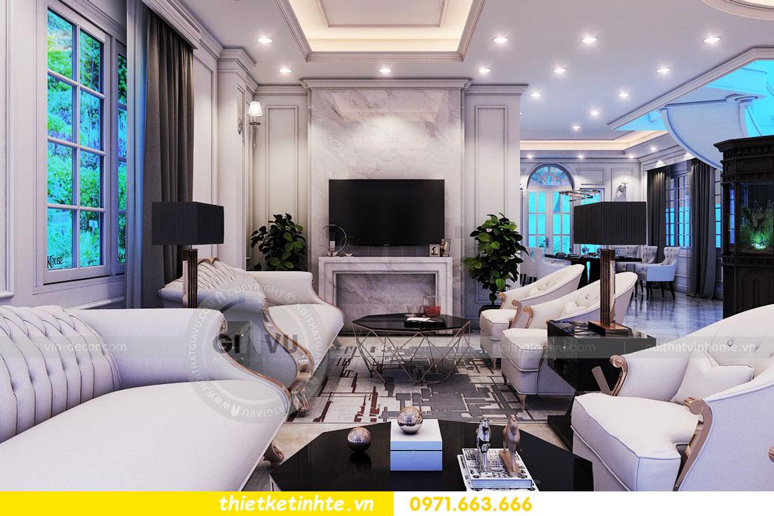 thiết kế nội thất biệt thự The Harmony tinh tế sang trọng 0971663666 11