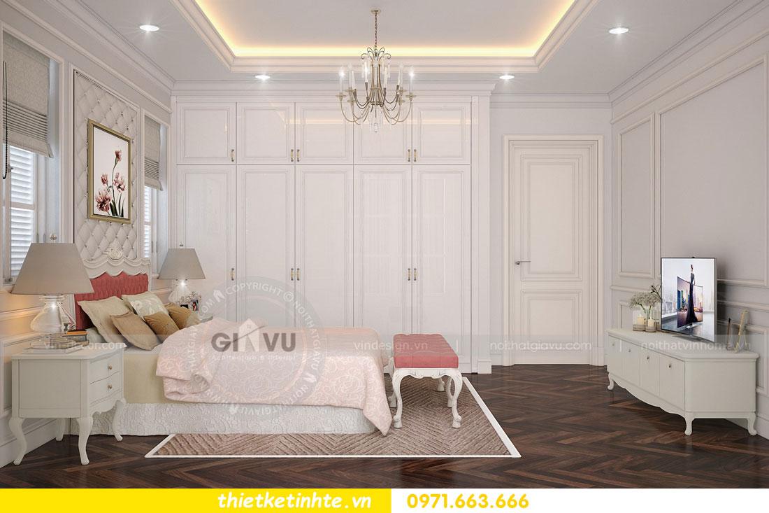 thiết kế nội thất biệt thự The Harmony tinh tế sang trọng 0971663666 12