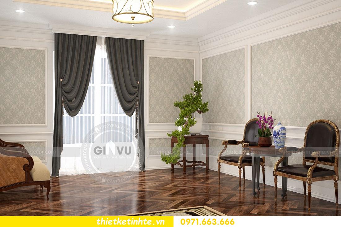 thiết kế nội thất biệt thự The Harmony tinh tế sang trọng 0971663666 20