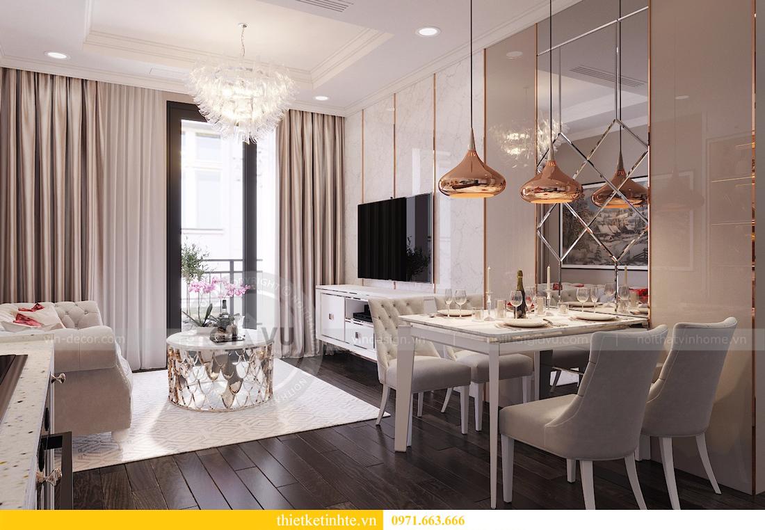 thiết kế nội thất căn 2 ngủ chung cư D Capitale hiện đại 02