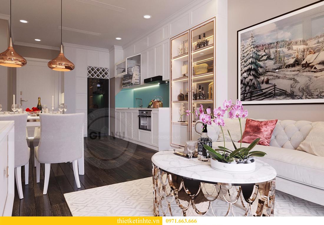 thiết kế nội thất căn 2 ngủ chung cư D Capitale hiện đại 03