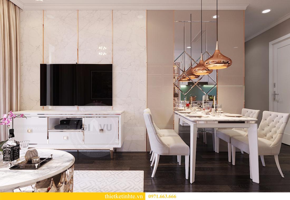 thiết kế nội thất căn 2 ngủ chung cư D Capitale hiện đại 04