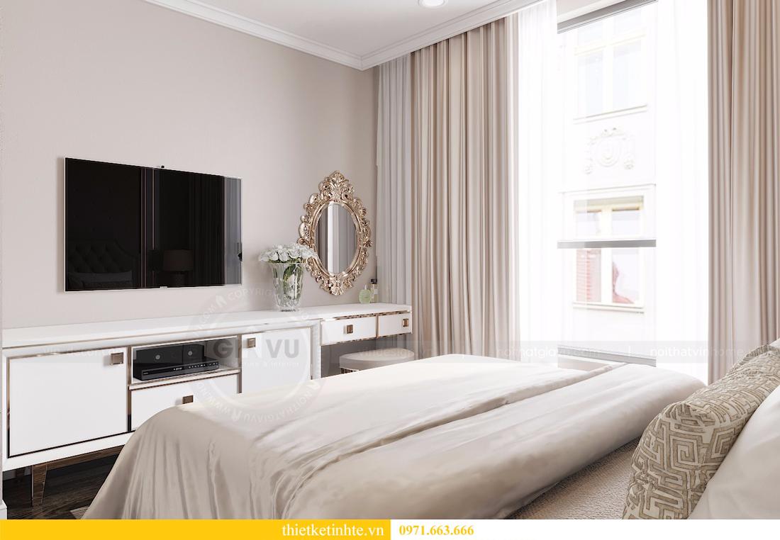thiết kế nội thất căn 2 ngủ chung cư D Capitale hiện đại 06