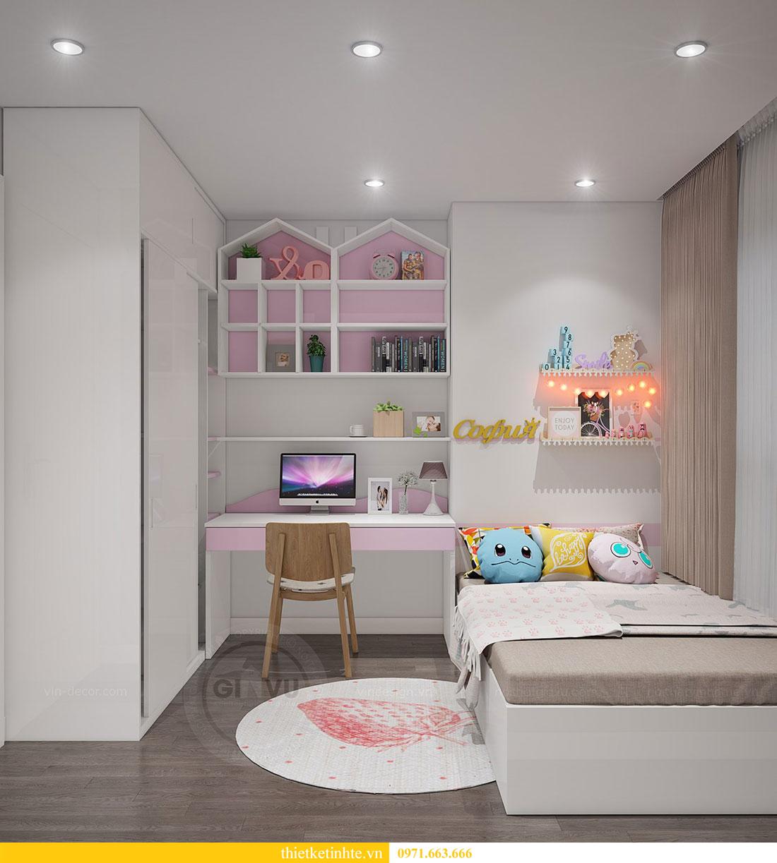 thiết kế nội thất căn 2 ngủ chung cư D Capitale hiện đại 07