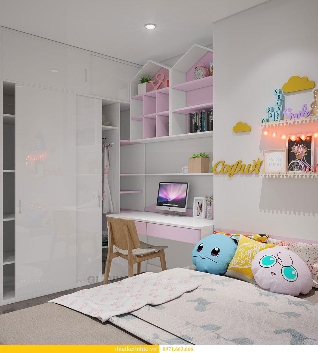 thiết kế nội thất căn 2 ngủ chung cư D Capitale hiện đại 08