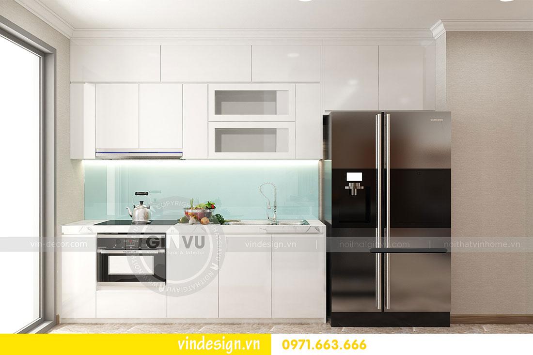 thiết kế nội thất chung cư D Capitale căn 2 phòng ngủ 08