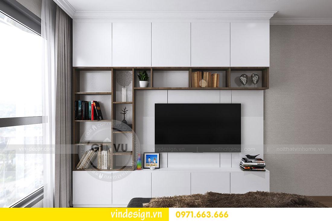thiết kế nội thất chung cư D Capitale căn 2 phòng ngủ 13
