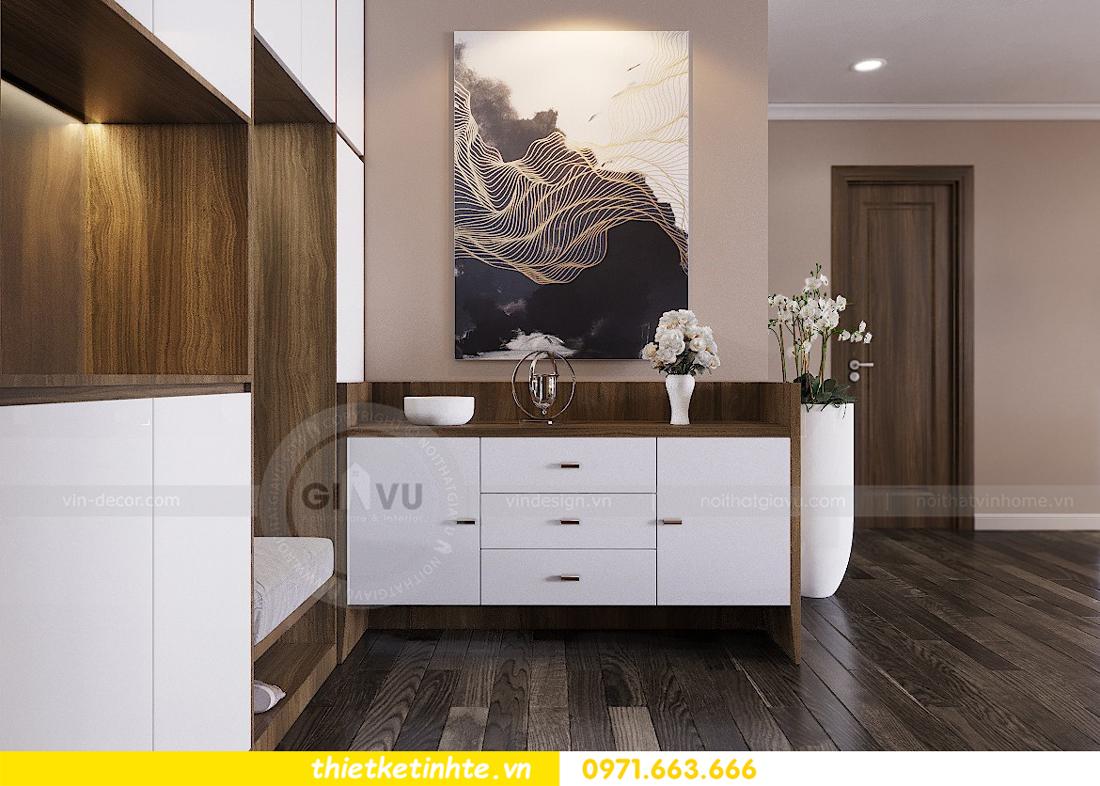 mẫu nội thất phòng khách chung cư D Capitale đẹp hiện đại 01