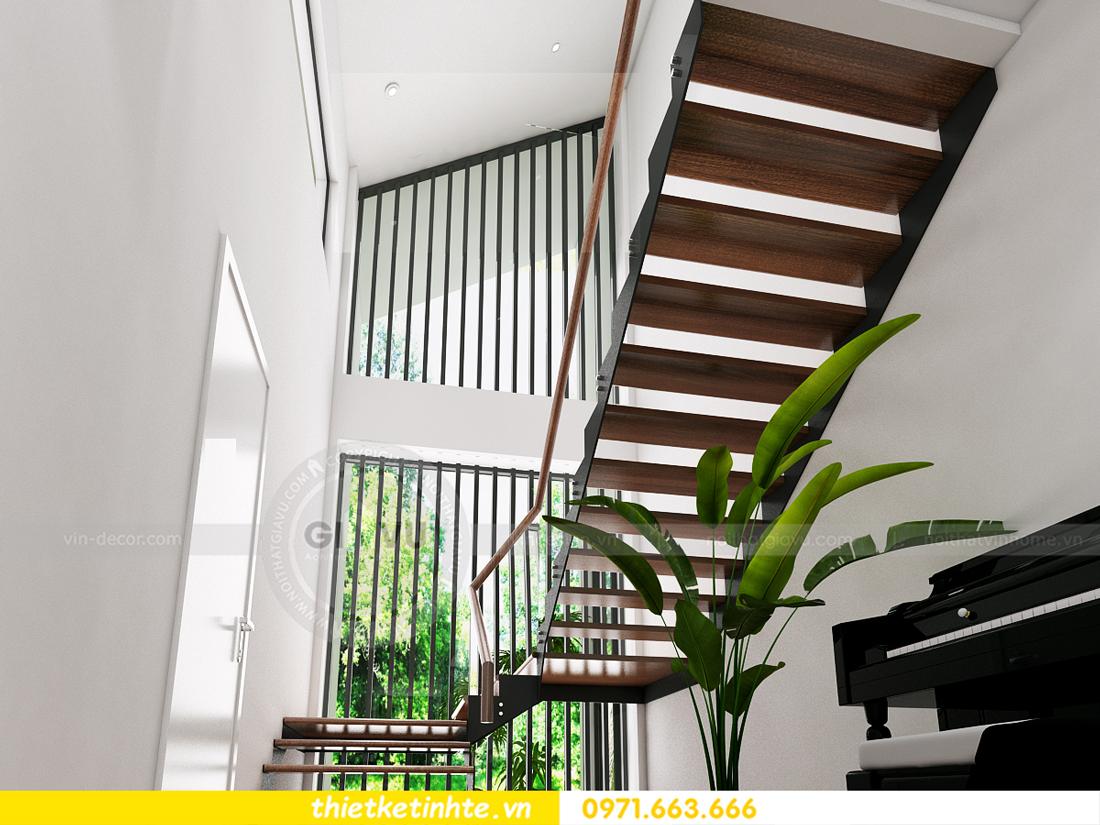thiết kế nội thất biệt thự Ecopark PA1 chị nga hiện đại trẻ trung 03