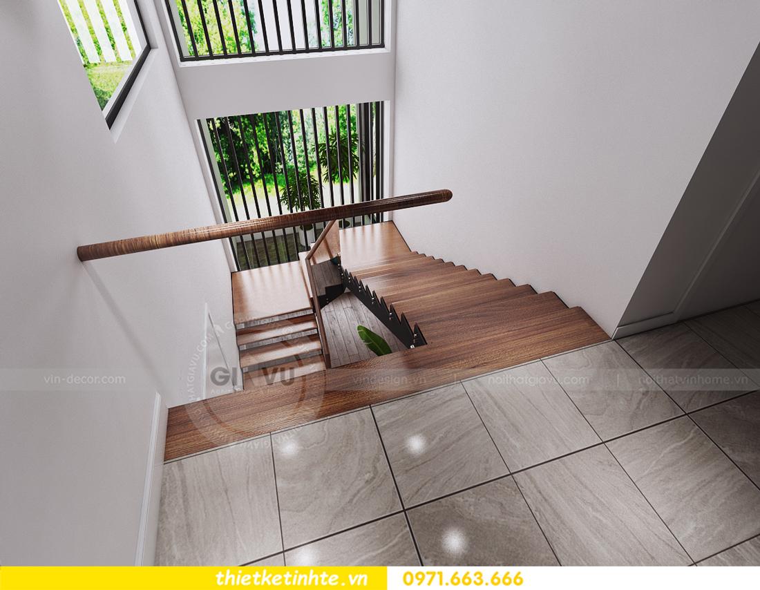 thiết kế nội thất biệt thự Ecopark PA1 chị nga hiện đại trẻ trung 05