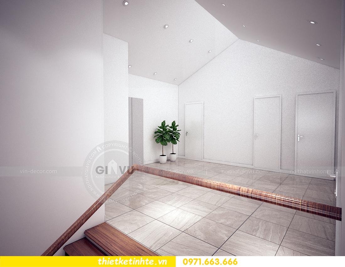 thiết kế nội thất biệt thự Ecopark PA1 chị nga hiện đại trẻ trung 06