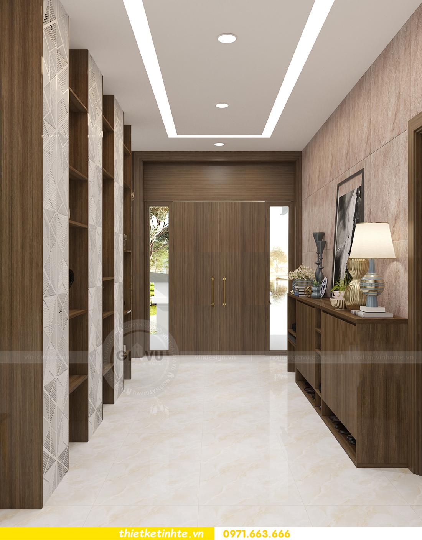 thiết kế nội thất biệt thự Ecopark PA1 chị nga hiện đại trẻ trung 07