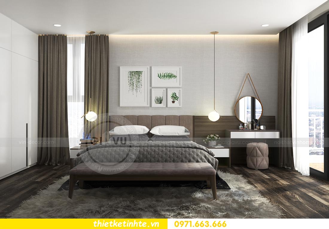 thiết kế nội thất biệt thự Ecopark PA1 chị nga hiện đại trẻ trung 12