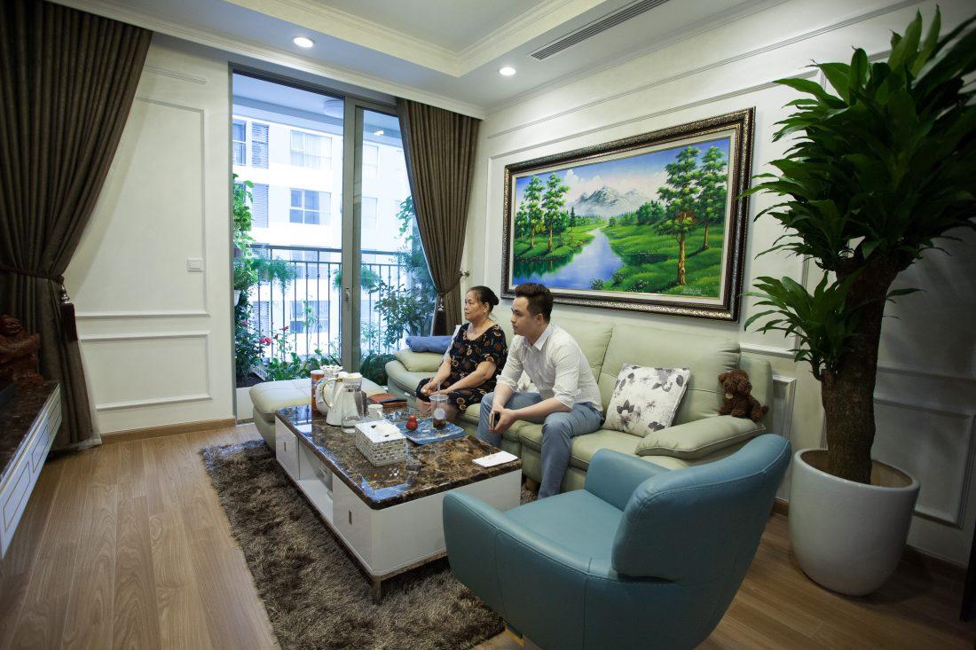 Hoàn Thiện Nội Thất Chung Cư Park Hill Căn 2 Phòng Ngủ Hiện đại