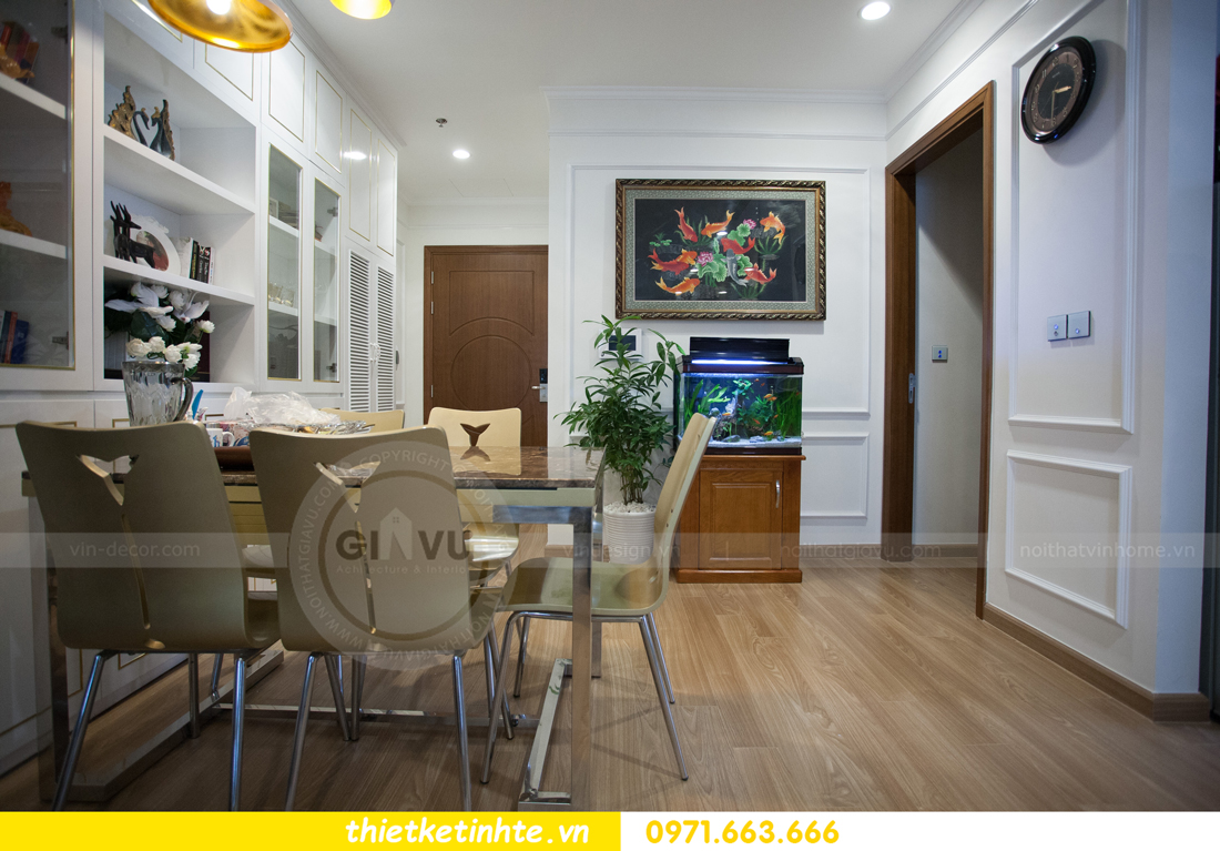 hoàn thiện nội thất chung cư Park Hill căn 2 phòng ngủ 03