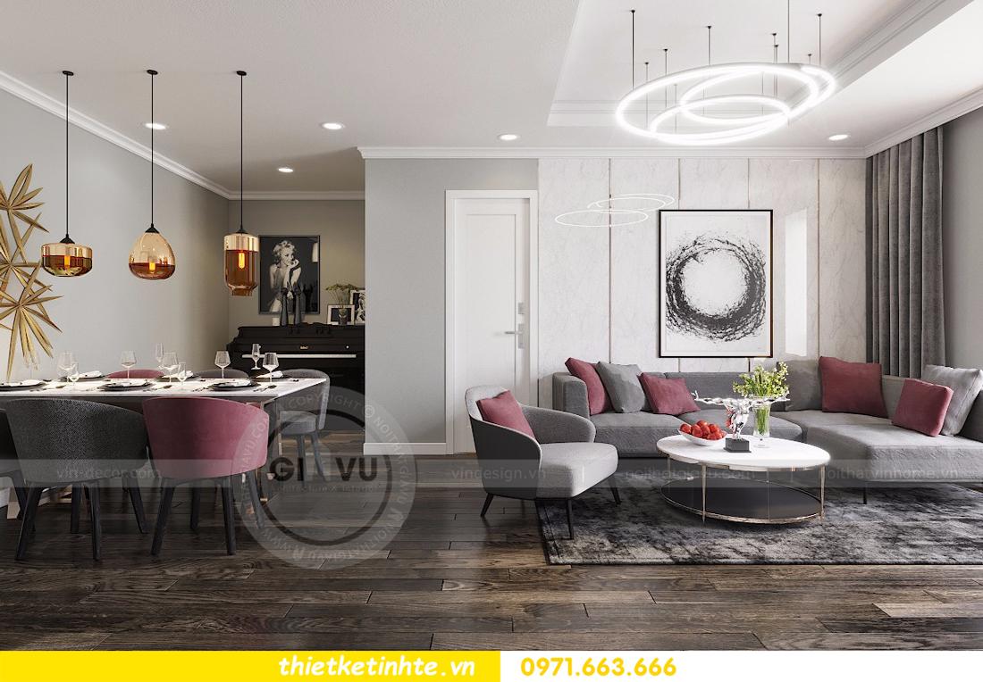 nội thất căn hộ D Capitale thiết kế đẹp hiện đại sang trọng 02