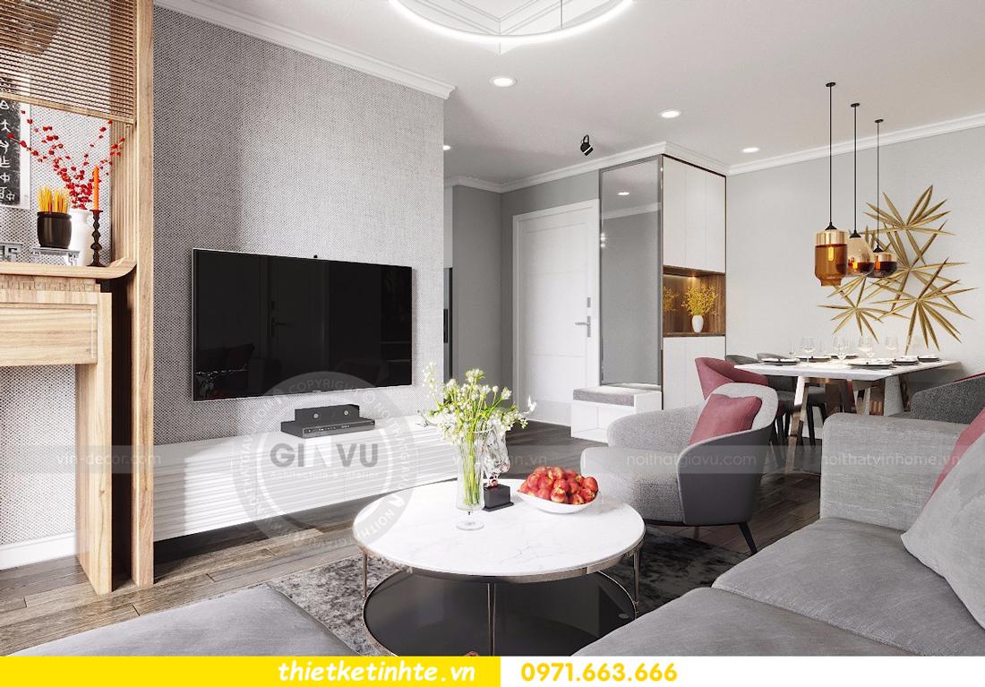 nội thất căn hộ D Capitale thiết kế đẹp hiện đại sang trọng 03