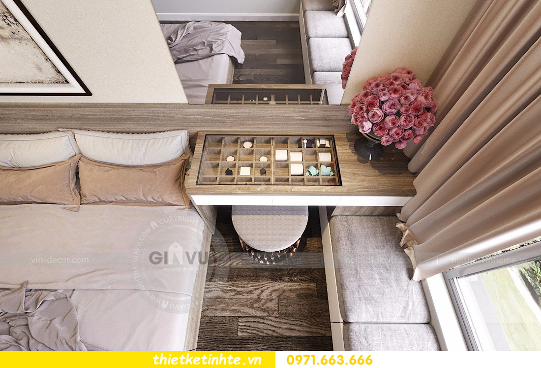 nội thất căn hộ D Capitale thiết kế đẹp hiện đại sang trọng 09