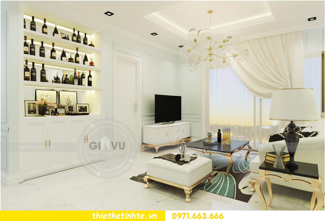 nội thất chung cư D Capitale theo phong cách tân cổ điển 02