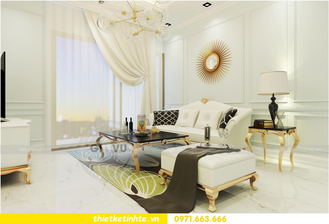 nội thất chung cư D Capitale theo phong cách tân cổ điển 03
