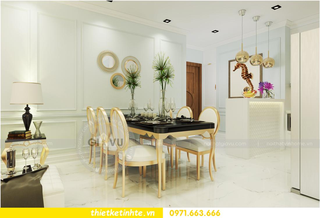 nội thất chung cư D Capitale theo phong cách tân cổ điển 04