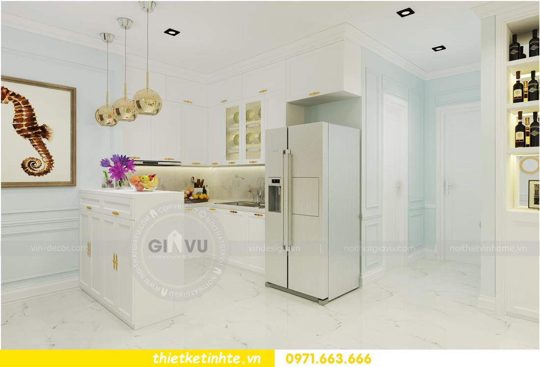 nội thất chung cư D Capitale theo phong cách tân cổ điển 05