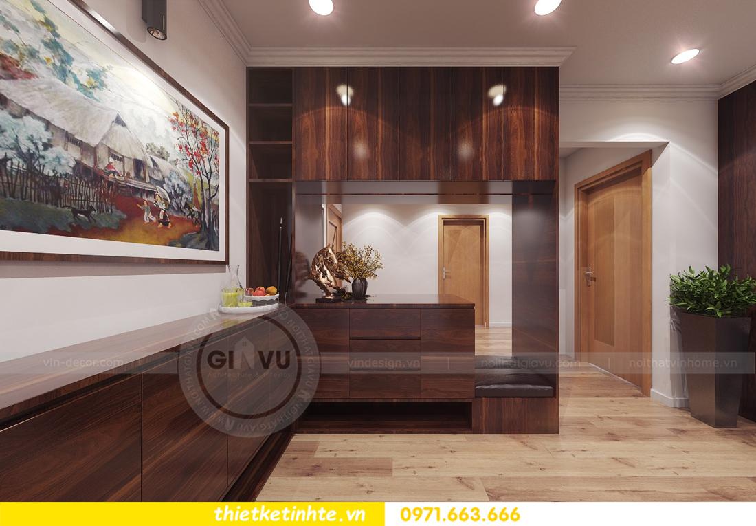 thiết kế nội thất chung cư Park Hill 11 căn 01 anh Hà 01