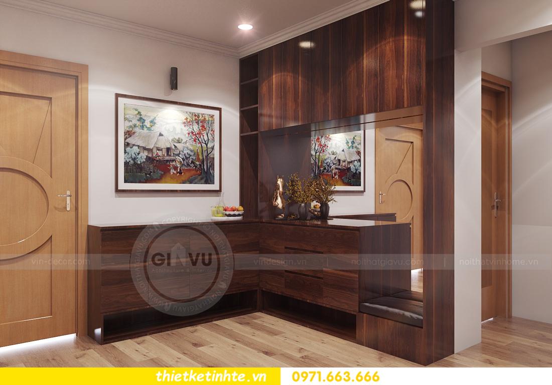 thiết kế nội thất chung cư Park Hill 11 căn 01 anh Hà 02