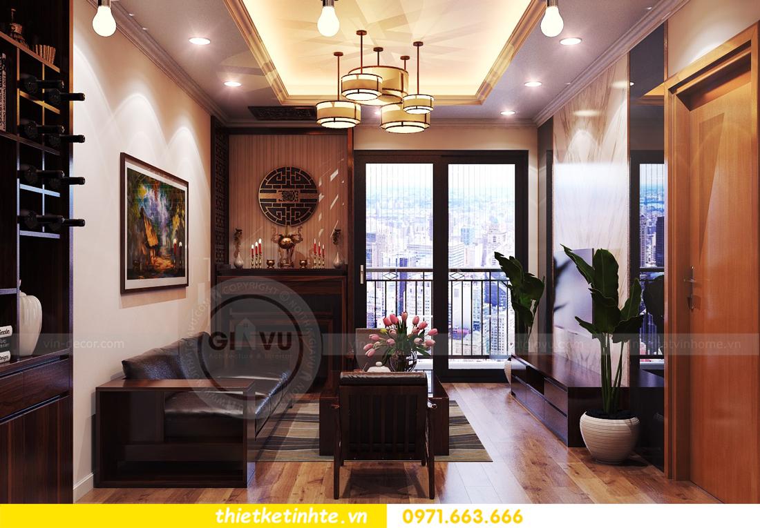 thiết kế nội thất chung cư Park Hill 11 căn 01 anh Hà 04