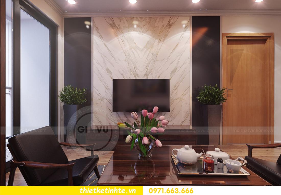 thiết kế nội thất chung cư Park Hill 11 căn 01 anh Hà 06