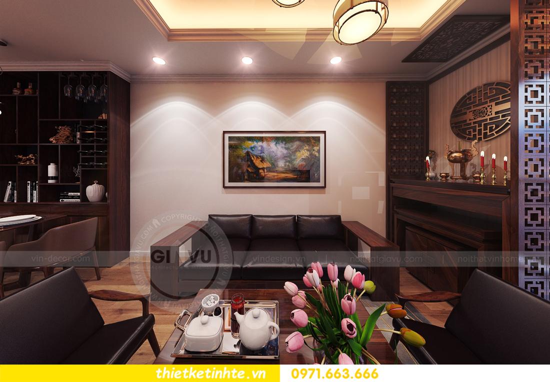 thiết kế nội thất chung cư Park Hill 11 căn 01 anh Hà 07