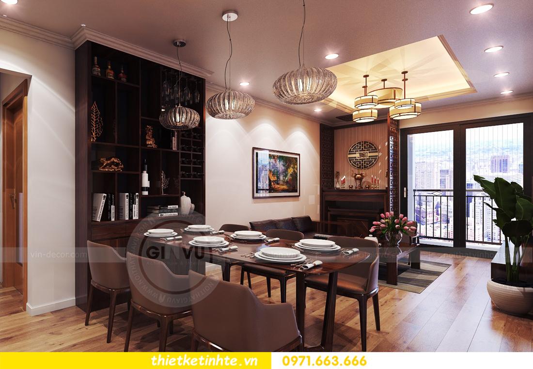 thiết kế nội thất chung cư Park Hill 11 căn 01 anh Hà 08