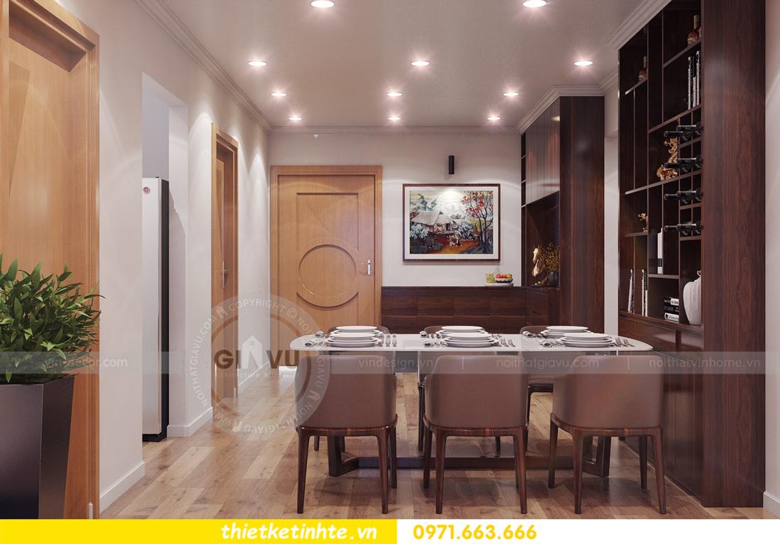thiết kế nội thất chung cư Park Hill 11 căn 01 anh Hà 09