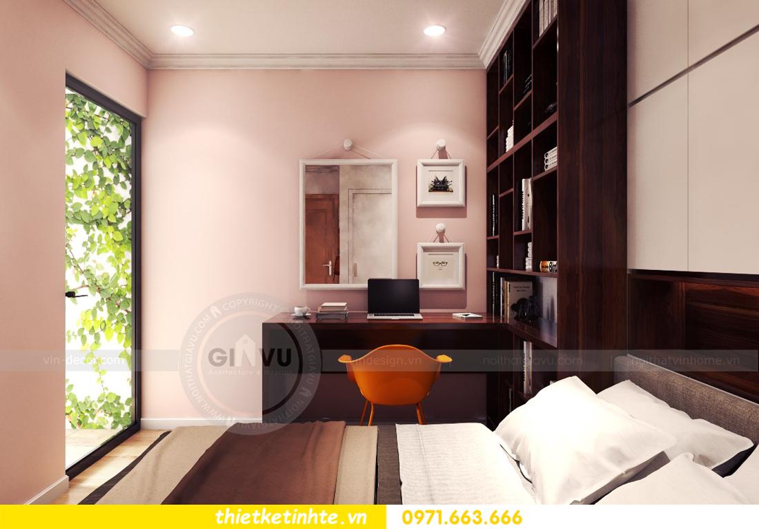 thiết kế nội thất chung cư Park Hill 11 căn 01 anh Hà 15