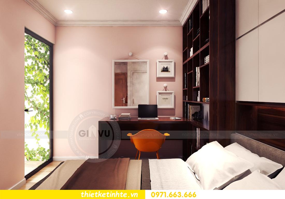 thiết kế nội thất chung cư Park Hill 11 căn 01 anh Hà 16