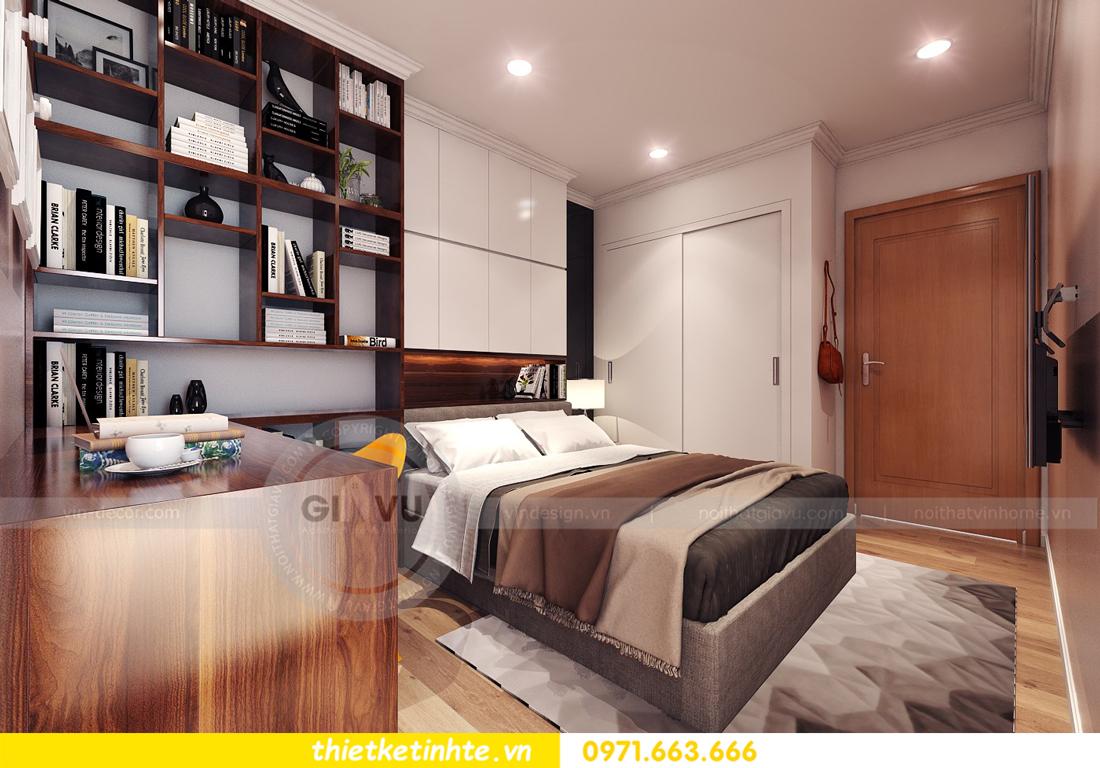 thiết kế nội thất chung cư Park Hill 11 căn 01 anh Hà 17