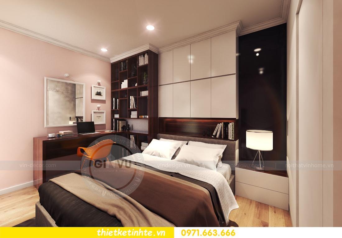 thiết kế nội thất chung cư Park Hill 11 căn 01 anh Hà 19