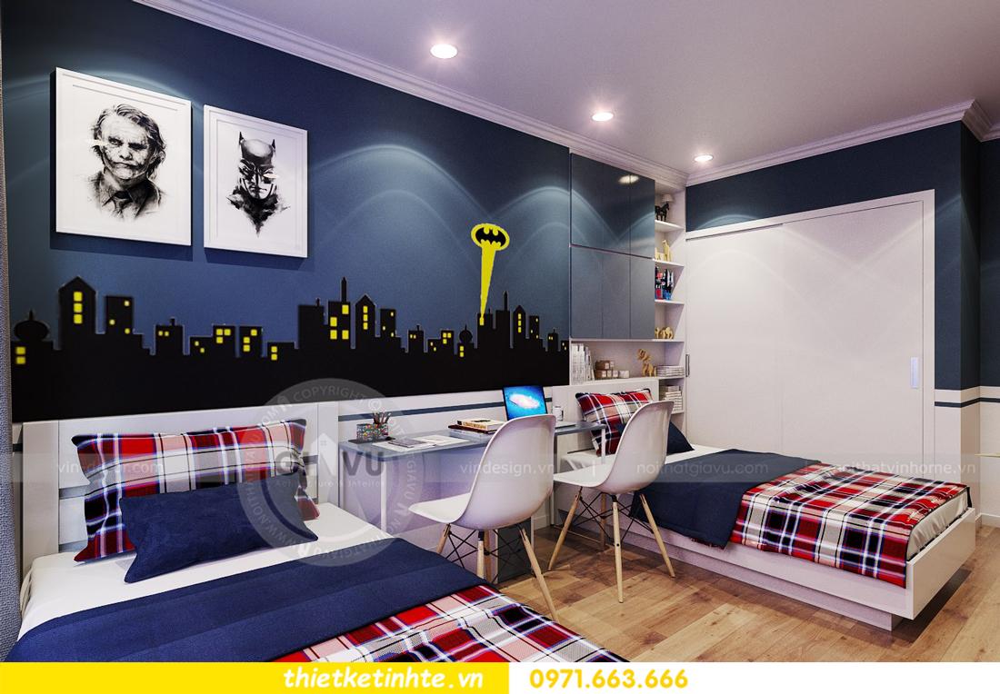 thiết kế nội thất chung cư Park Hill 11 căn 01 anh Hà 20