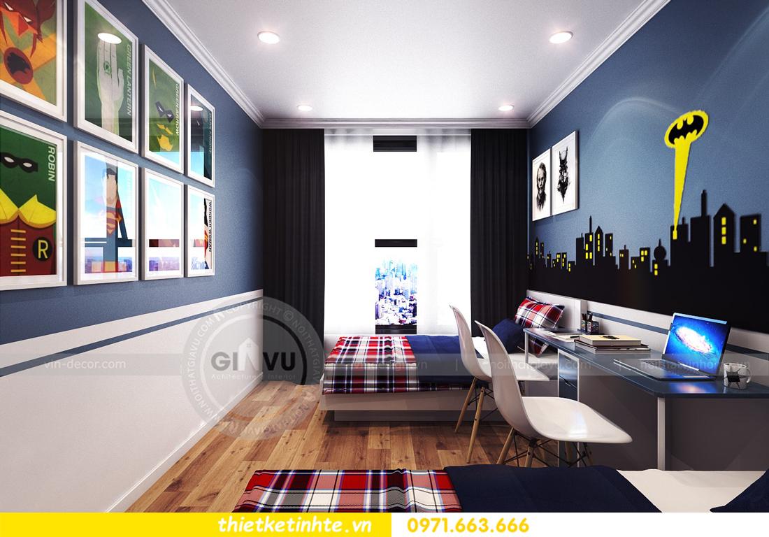 thiết kế nội thất chung cư Park Hill 11 căn 01 anh Hà 21