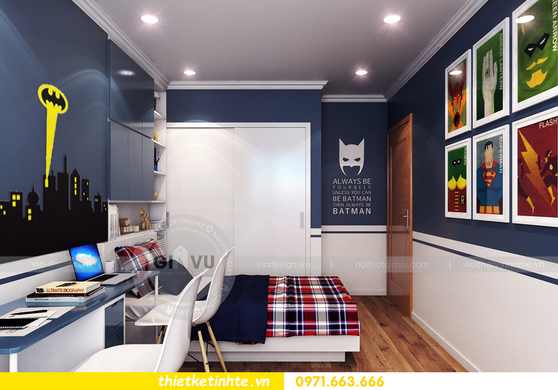 thiết kế nội thất chung cư Park Hill 11 căn 01 anh Hà 22