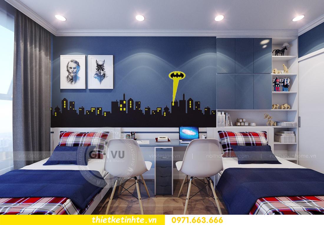 thiết kế nội thất chung cư Park Hill 11 căn 01 anh Hà 23