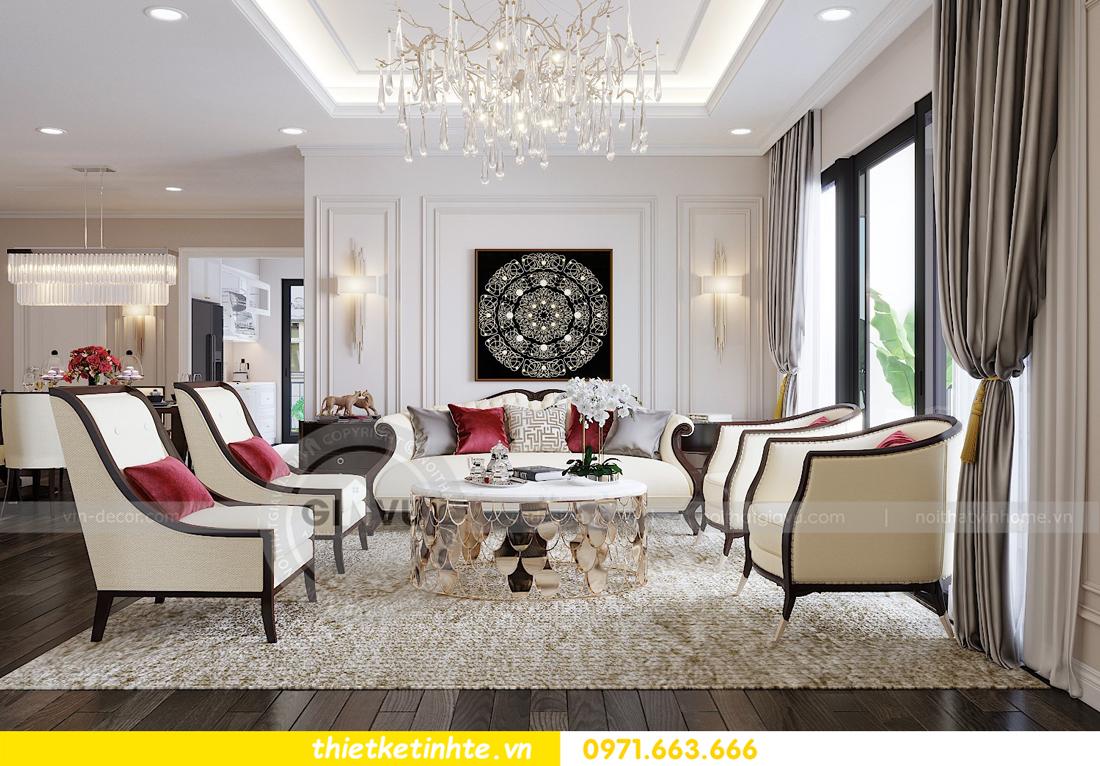 thiết kế nội thất chung cư Park Hill Premium P10 căn 03 nhà chị Lan 01