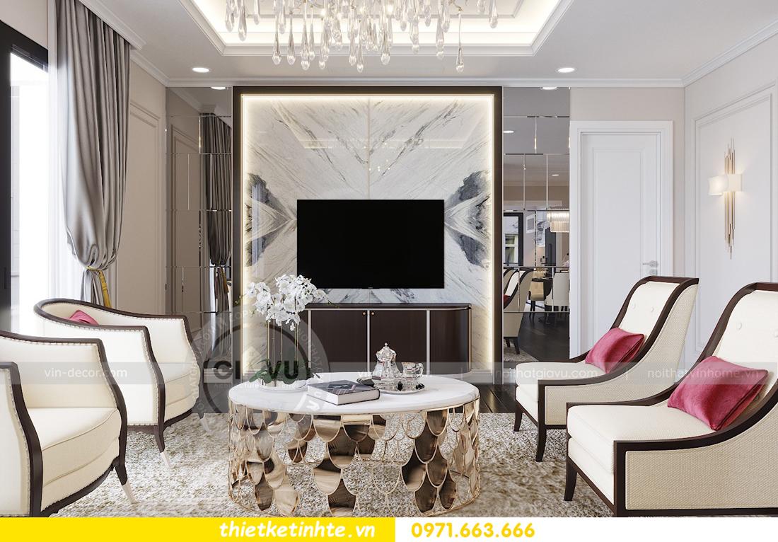 thiết kế nội thất chung cư Park Hill Premium P10 căn 03 nhà chị Lan 02