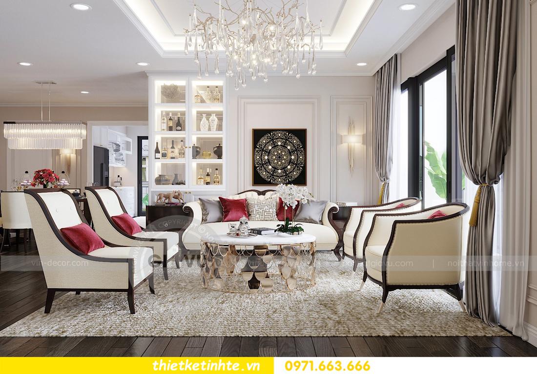 thiết kế nội thất chung cư Park Hill Premium P10 căn 03 nhà chị Lan 03