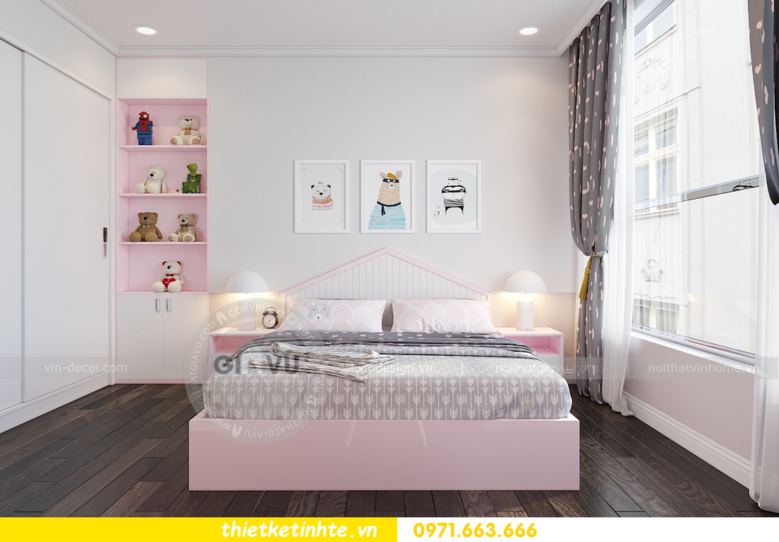 thiết kế nội thất chung cư Park Hill Premium P10 căn 03 nhà chị Lan 09
